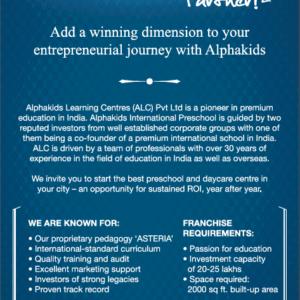 Alpha Kids Daycare Ad