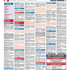 Deccan Classified Ads
