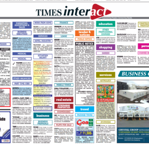 Times Classified Ad